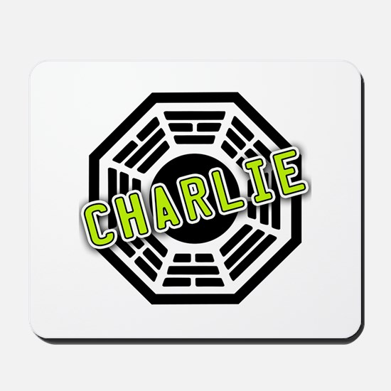 Charlie Dharma Logo from LOST Mousepad