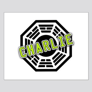Charlie Dharma Logo from LOST Small Poster