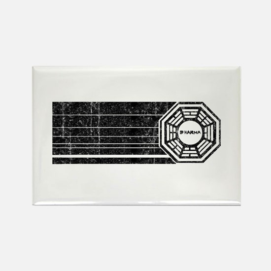 Lost Dharma Initiative Rectangle Magnet