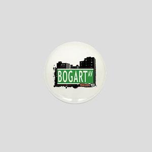 Bogart Av, Bronx, NYC Mini Button