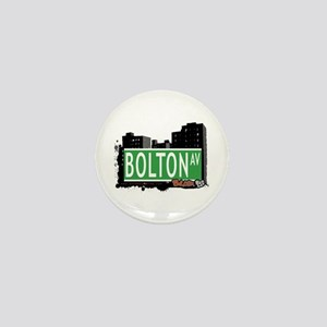 Bolton Av, Bronx, NYC Mini Button
