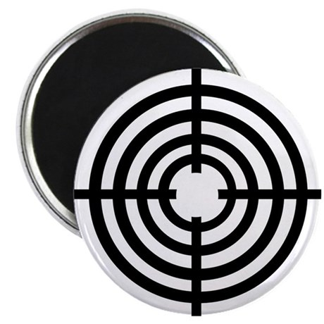 """Crosshairs 2.25"""" Magnet (100 pack)"""