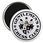 "Gentlemen's Chess Club 2.25"" Magnet (100 pack)"
