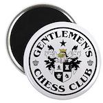 "Gentlemen's Chess Club 2.25"" Magnet (10 pack)"
