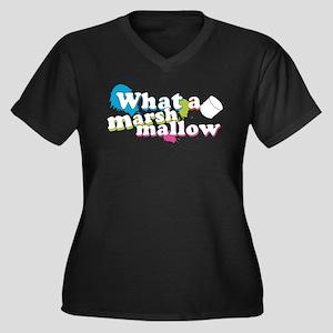 Marshmallow for lt garments copy Plus Size T-Shirt