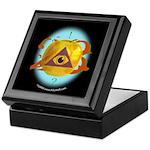 Illuminati Golden Apple Keepsake Box
