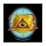Illuminati Golden Apple Tile Coaster