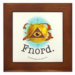 Illuminati GoldenApple Fnord Framed Tile