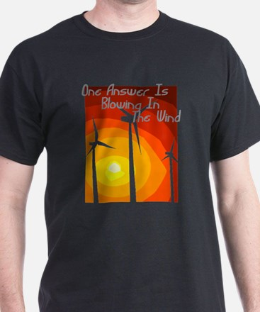 Environmental Black T-Shirt