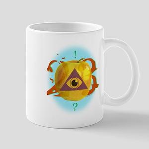 Illuminati Golden Apple Mug