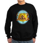 Illuminati Golden Apple Sweatshirt (dark)