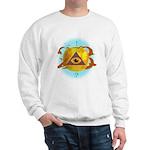 Illuminati Golden Apple Sweatshirt