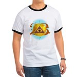 Illuminati Golden Apple Ringer T