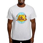Illuminati Golden Apple Light T-Shirt