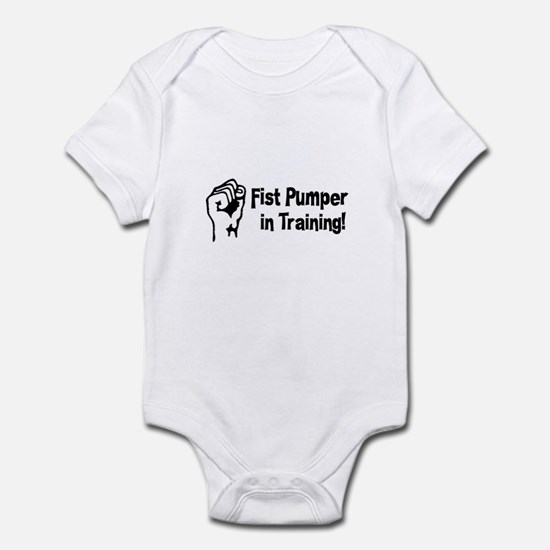 Fist Pumper in Training Infant Bodysuit