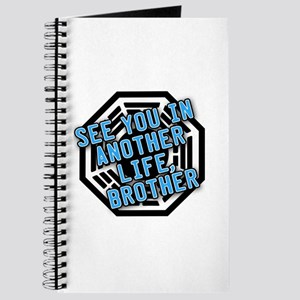 Desmond Quote with Dharma Logo Journal