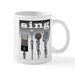 4 Microphones with Sing Mug