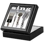 4 Microphones with Sing Keepsake Box
