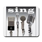 4 Microphones with Sing Mousepad