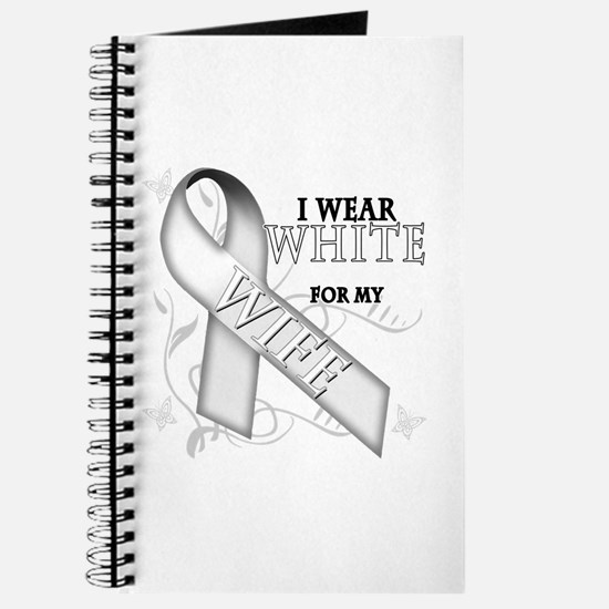 I Wear White for my Wife Journal