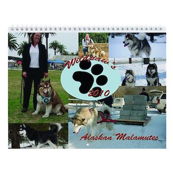 WildPaw's 2010 Alaskan Malamute Calender