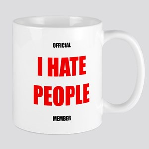 Official I Hate People member mug