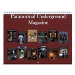 Paranormal Underground Wall Calendar