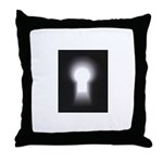 Paranormal Underground Throw Pillow