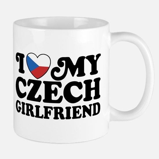 I Love My Czech Girlfriend Mug