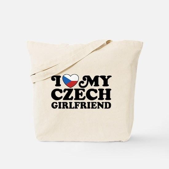 I Love My Czech Girlfriend Tote Bag