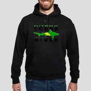 Scuba Diver: Nitrox Shark Hoodie (dark)