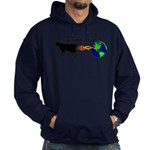 EAT MORE COWS! Hoodie (dark)