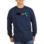 EAT MORE COWS! Long Sleeve Dark T-Shirt
