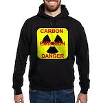 CARBON EMISSION DANGER Hoodie (dark)