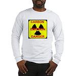 CARBON EMISSION DANGER Long Sleeve T-Shirt