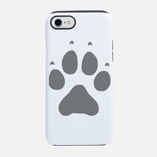 Wolf Paw Print iPhone 7 Tough Case