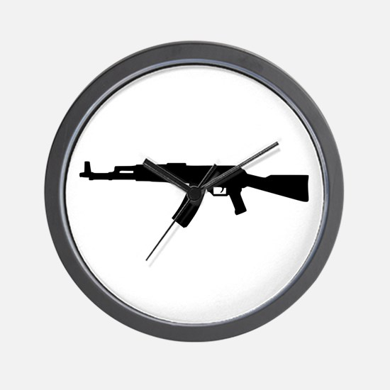 Rifle AK 47 Wall Clock
