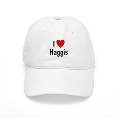 I Love Haggis Baseball Cap