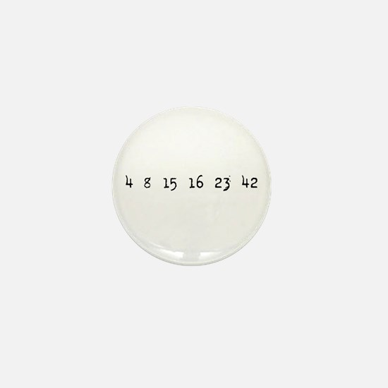 4815162342 LOST Numbers Mini Button