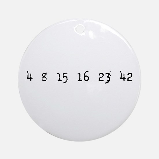 4815162342 LOST Numbers Ornament (Round)