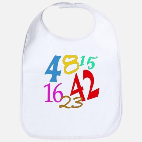 Lost Numbers 4 8 15 16 23 42 Bib