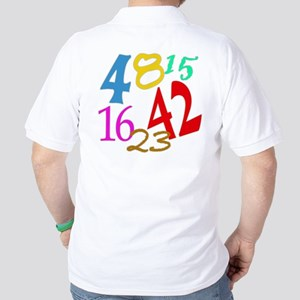 Lost Numbers 4 8 15 16 23 42 Golf Shirt
