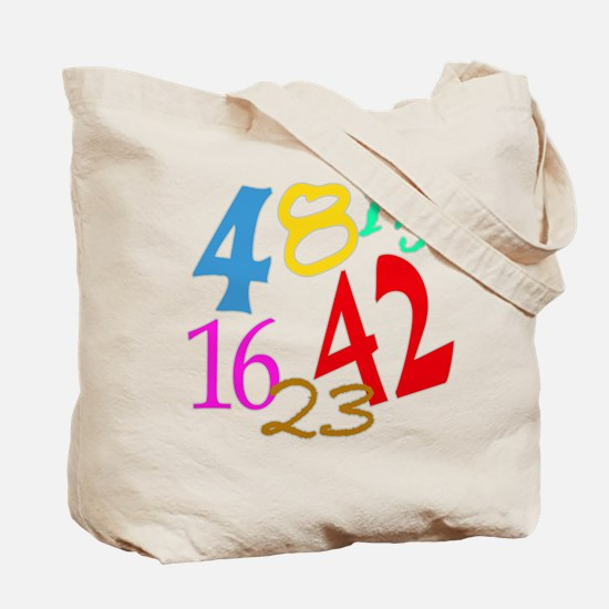 Lost Numbers 4 8 15 16 23 42 Tote Bag