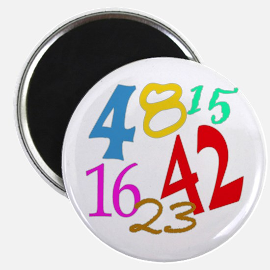 Lost Numbers 4 8 15 16 23 42 Magnet