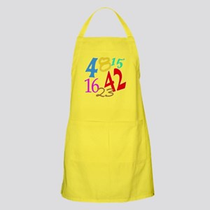 Lost Numbers 4 8 15 16 23 42 Apron