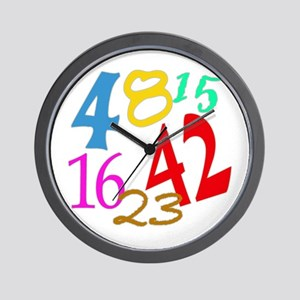 Lost Numbers 4 8 15 16 23 42 Wall Clock
