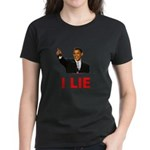 I Lie Women's Dark T-Shirt