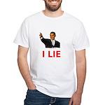 I Lie White T-Shirt
