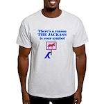 Jackass Symbol Light T-Shirt