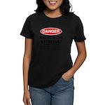 Danger Right Wing Extremist Women's Dark T-Shirt